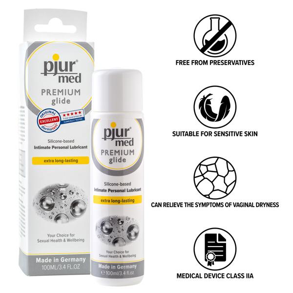 Pjur Med Premium silikonebaseret glidecreme 100 ml