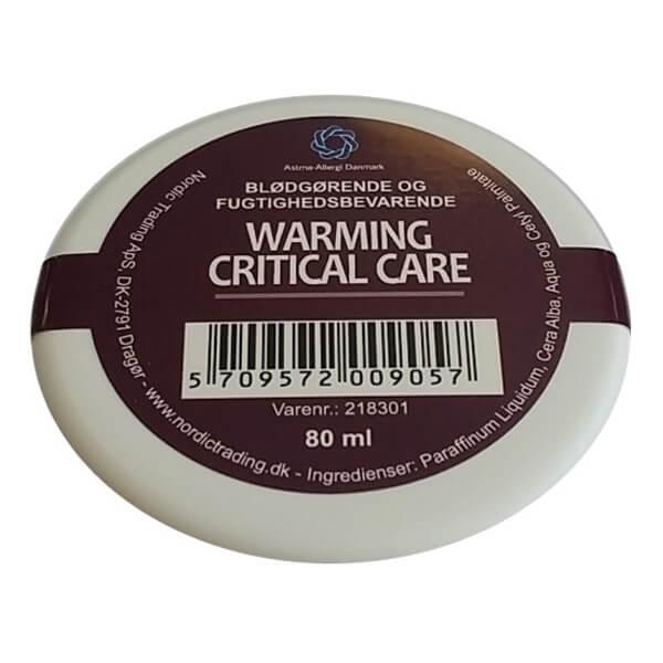 warming critical care fedtcreme