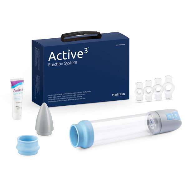 Automatisk penispumpe til rejsningsproblemer i ny og opladelig udgave