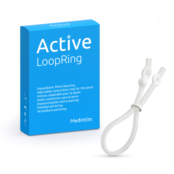 active loop justerbar penisring. Let at bruge og fleksibel